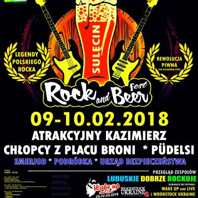 ROCK and BEER Fest. w Sulęcinie!